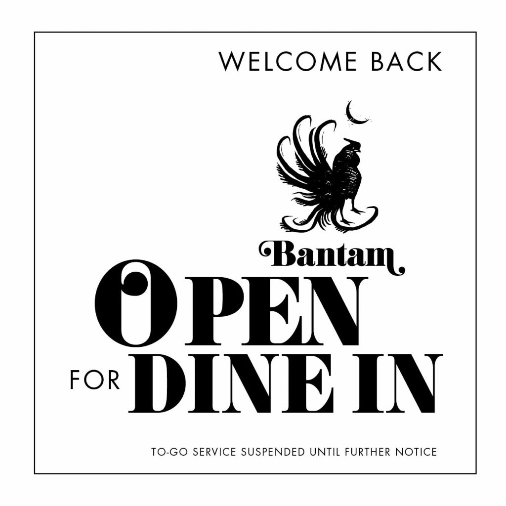 Open for Dine In